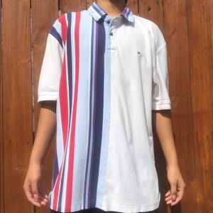 Multicolor striped Tommy Hilfiger Polo shirt